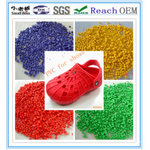 Grânulo de PVC para sapatos