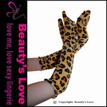 Beleza Sexy Sexy Wear Mulheres luvas de cor Leopard baratos