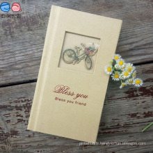 Customized Hardcover 48k Flocage Pattern Notebook