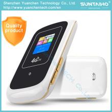 4 G Direkt eingelegter SIM-Kartensteckplatz-Router auf einem Mobiltelefon zum Empfang von Funksignalen