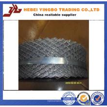 De alta calidad fácil manejar galvanizado Expaned malla de alambre de ladrillo de acero