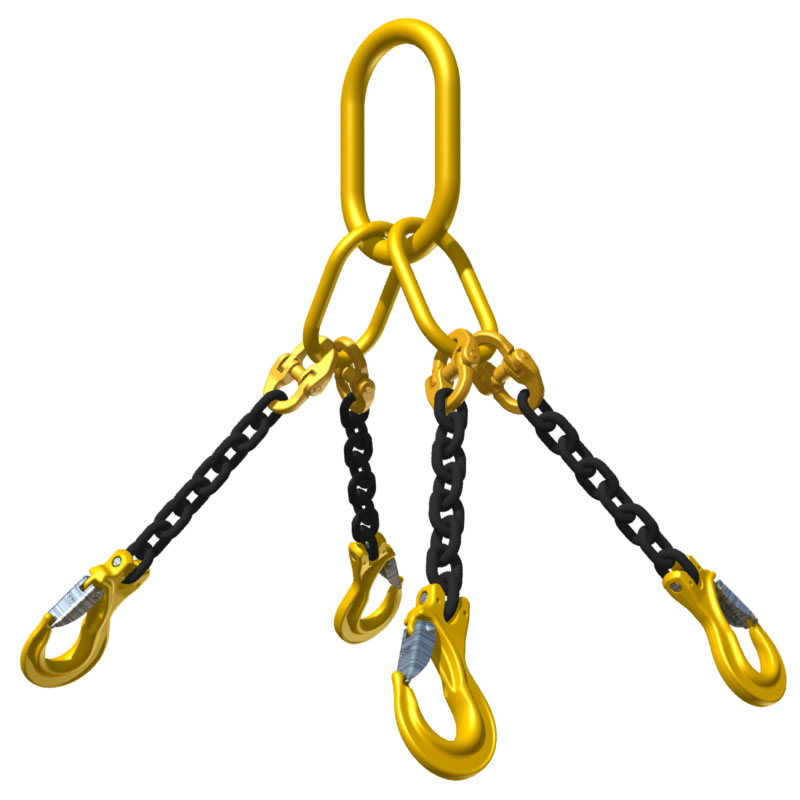 2 legs lifting chain sling