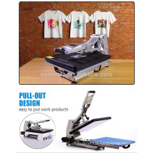 2015 New Sublimation T Shirt Priting máquina de imprensa de calor por estilo hidráulico ST-4050A