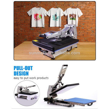 2015 New Sublimation T Shirt Priting Heat Press Machine by Hydraulic Style ST-4050A