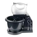 Electric Plastic Bowl Flour Dough Kitchen Hand Mixer