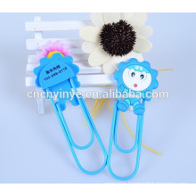 Promotional soft pvc paper clip with magnet