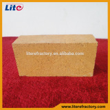 High temperature fireproof super duty standard straight fire clay refractory fire brick for furnace/kiln/pizza oven