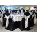 universal polyester banquet chair cover, table linen table cover for wedding hotel