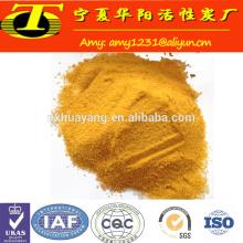 Cloreto de polialumínio para purificação de água potável