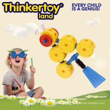 2015 Новая модель формы рыбы Пластиковые игрушки Дети Строительство игрушки