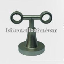 Hot venda metal ferro aço inoxidável latão único duplo cortina suporte
