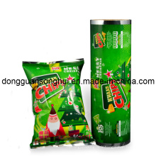 Batteries de pommes de terre Emballage Film / Popcorn Roll Film / Snack Film
