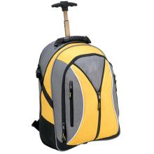 Рюкзак с тележкой, багажником, рулоном, колесом