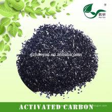 Carbone activé à base de coquillages pour gaz résiduaires industriels
