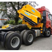Grúas montadas sobre camión con pluma plegable OUCO 25T con control remoto