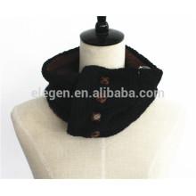Men Women Fall/Winter Knitted Berber Fleece inside neck gaiter scarf