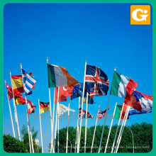 Bandeira de segurança nacional do país de forma personalizada