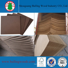 Shandong Decorative Raw Hardboard with High Density
