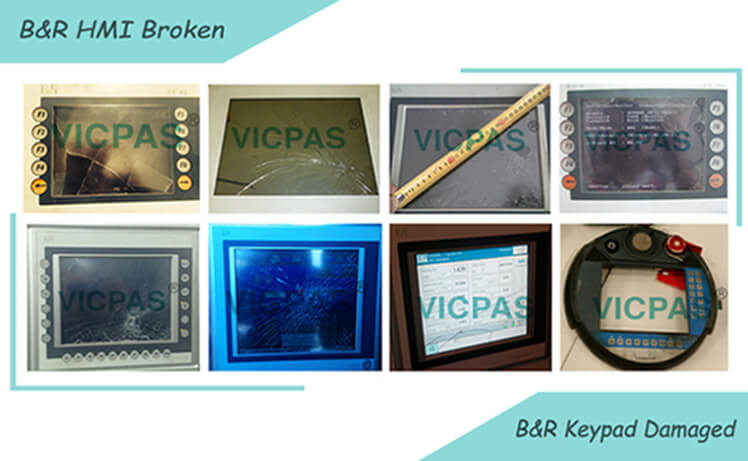 B&R Broken MMI Touch Screen