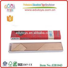 Natural T Puzzle Toy Brinquedos educativos de madeira de madeira