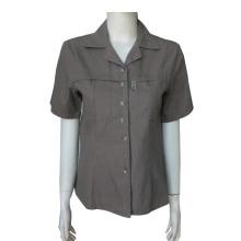 正式なユニフォーム シャツを半袖