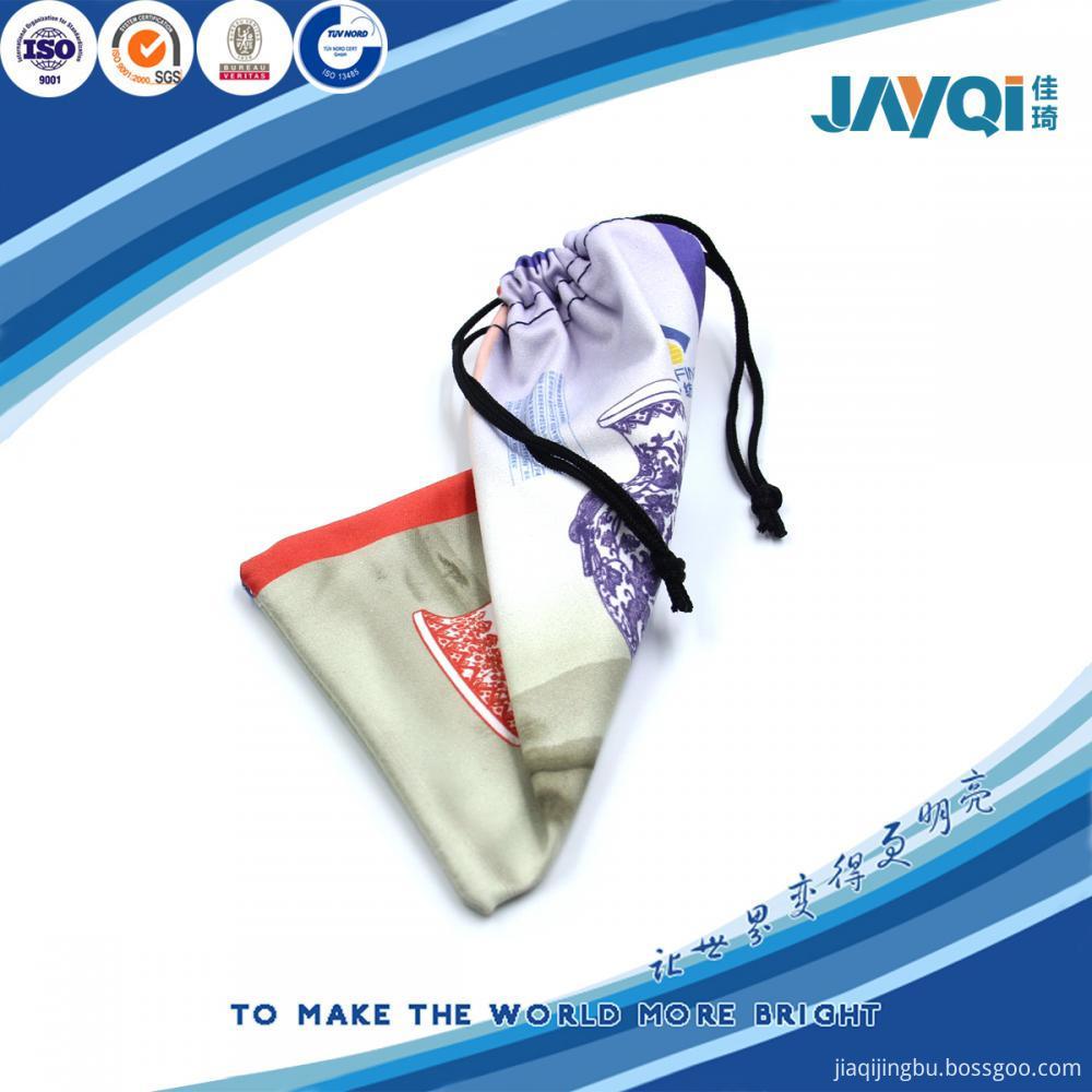 Custom Printed Microfiber Bags/Eyeglasses Case