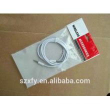 Custom Electric Wire OPP Plastic bag