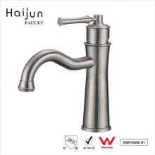 Haijun Factory Direct Deck Mounted Saving Water Bathroom Basin Faucet