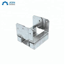 4x4 wooden support post concrete connector