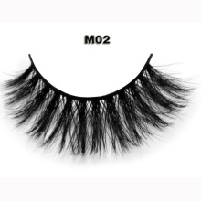 Natural looking super lightweight horse hair strip false eyelash