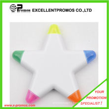 Top Quality Cheap Customized Logo Flower Shape Highlighter Pen (EP-P6266-69)