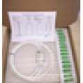 1X2 1X4 FTTH Mini tube plc splitter 1X8 1X16 1X32 1X64 1X128 optical splitter / fiber optic splitter / plc splitter