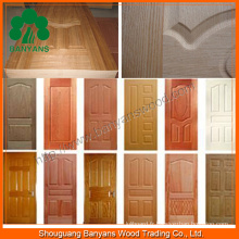 Peau de porte en mélamine à placage de bois (BY-36)
