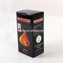 Lumière de Shisha coco coquille Charcoal rapide narguilé briquettes Coco Cube Charcoal