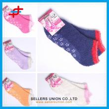 Gemütliches warmes Mädchen jugendlich microfiber Haupttuchknöchel Socken kundenspezifisches Firmenzeichen