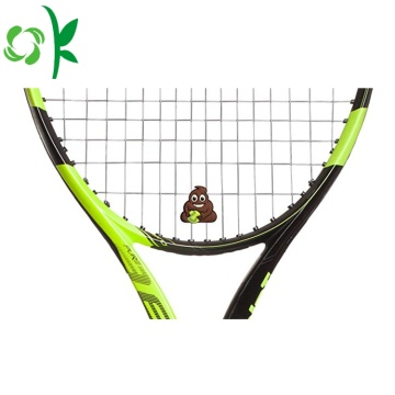 Superman merk tennis op maat siliconen racket-absorber