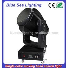 4/5/7 / 10KW uma cor movendo cabeça pesquisa luz