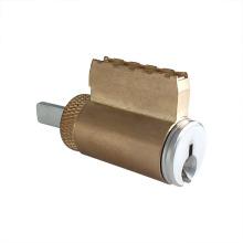 Cilindro de cerradura de puerta de cerrojo de latón de cobre simple