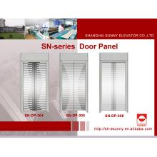 Panel de puerta de grabado de acero inoxidable para elevador (SN-DP-304)