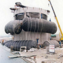 lifting rubber airbag for repair ship