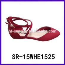 SR-15WHE1525 леди обувь 2015 женщин плоские туфли 2015 моды мокасины леди обувь