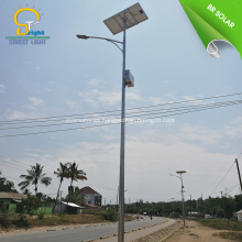 Alumbrado publico solar moderno