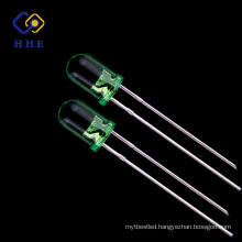 CE ROHS Ultra brightness Green 5mm 520nm Round led