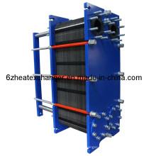 Intercambiador de calor de juntas para agua salina (igual a M10B / M10M)