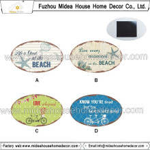 Prix le moins cher Custom Logo Metal Fridge Magnet