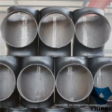 Montaje de tuberías de CS Tee en la industria del gas y del petróleo