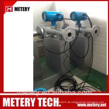 Benzin-Durchflussmesser Coriolis Metery Tech.China
