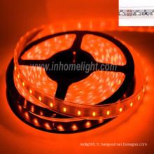 Certificat CE & ROHS imperméable à l'eau ip68 3528 Ribbon SMD lamp, 2 ans de garantie