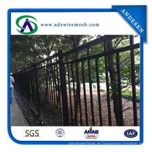 Geschweißte Schmiedeeisen-Zäune / Australien-Stärke-Sicherheits-geschweißter Stahlzaun