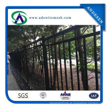 Cercas de ferro forjado soldado / cerca de aço soldada de força de segurança de Austrália